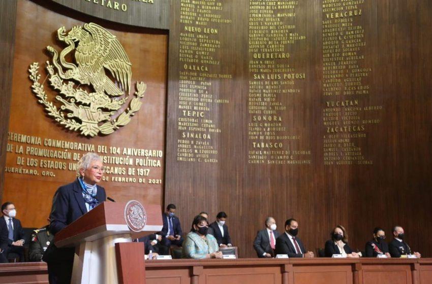 Llama Sánchez Cordero a renovar alianza para la unidad en el país