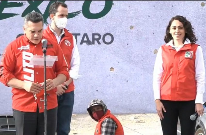 Abigail Arredondo toma protesta como candidata del PRI a la gubernatura de Querétaro