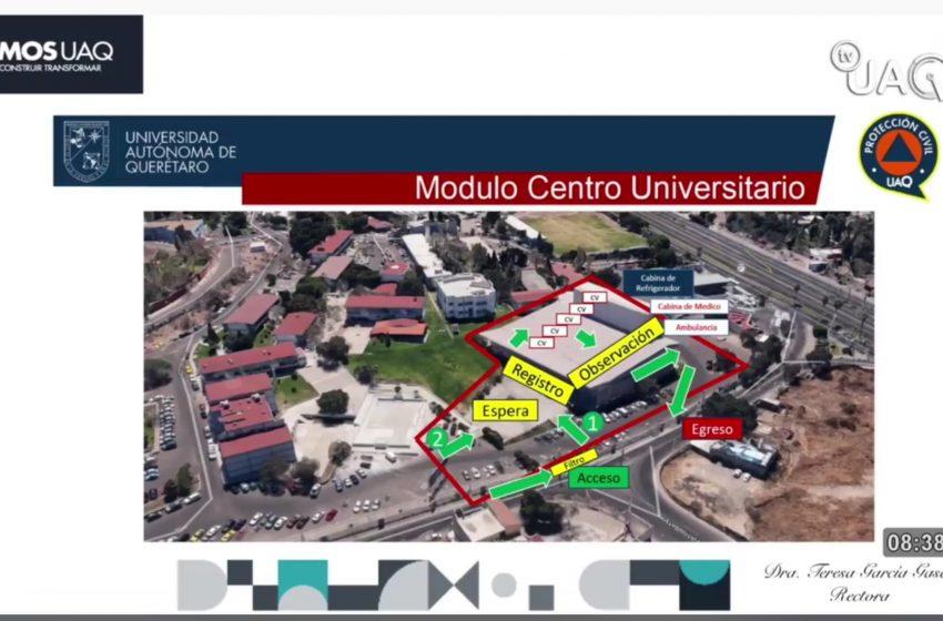 Autorizan cuatro campus UAQ como puntos de vacunación anti-COVID-19