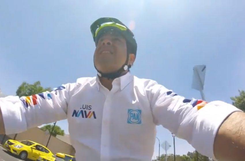 #EnBiciCon… Luis Bernardo Nava