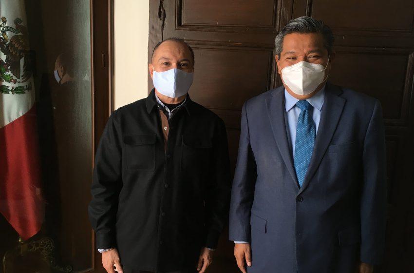 Gilberto Alvaradejo García, nuevo encargado de despacho de Usebeq