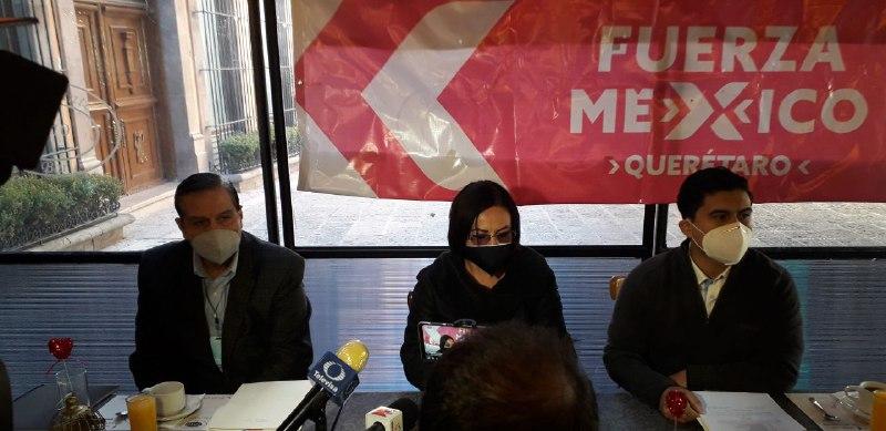 Fuerza por México presenta candidatos en Querétaro; aún no hay para la gubernatura