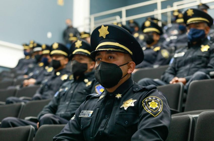 Promocionan a 80 elementos de la policía municipal de Querétaro