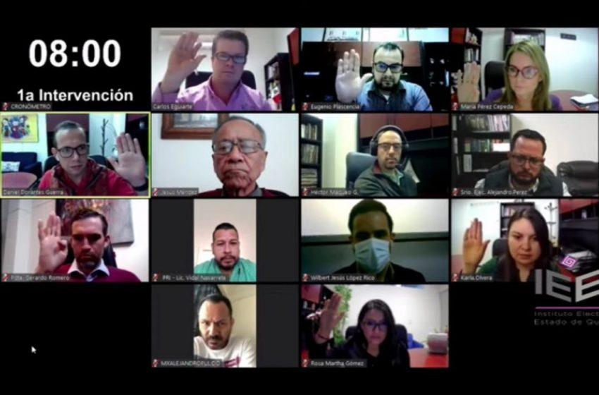 IEEQ anuncia temas y reglas para debates oficiales a la gubernatura
