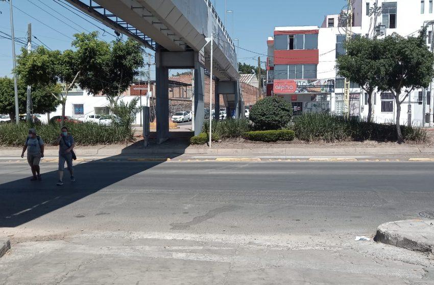 El puente olvidado de Puerta La Victoria
