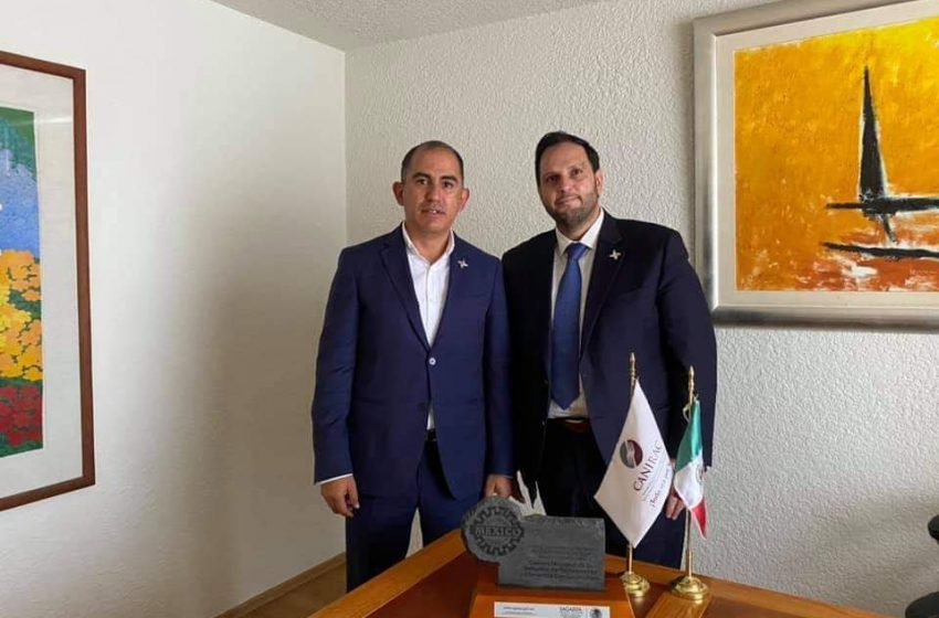 Octavio Mata es designado como vicepresidente de turismo de Canirac nacional