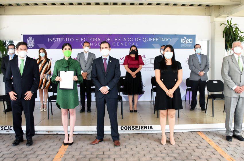 """""""En mi gobierno, ni dramas, ni gritos, mucho menos ocurrencias"""": Katia Reséndiz"""
