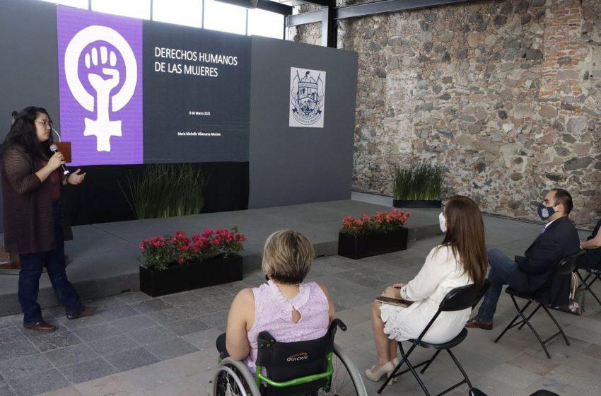 Conmemoran en Corregidora el Día Internacional de la Mujer