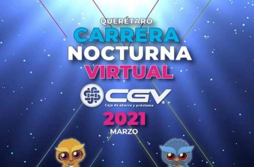 5 mil personas participarán en 10ª Carrera Nocturna, en su modalidad virtual