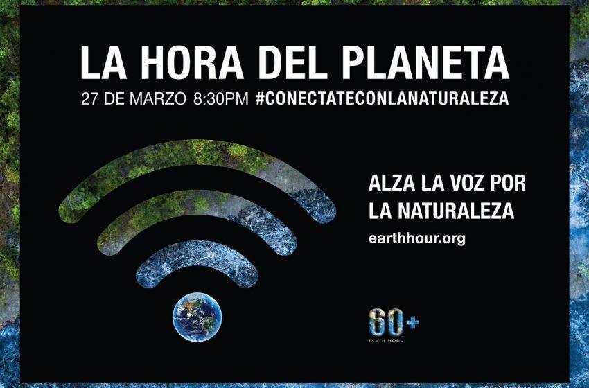 ¡Llegó la Hora del Planeta! Súmate este sábado 27 de marzo