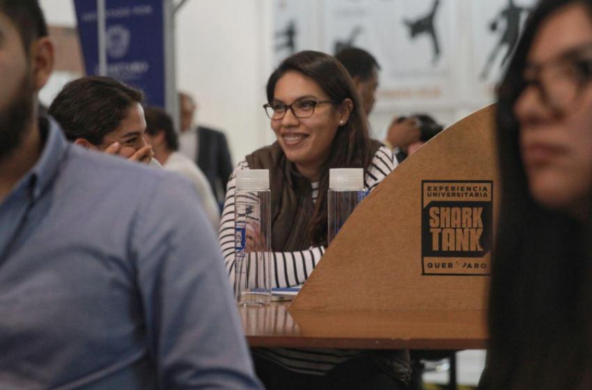 Siete proyectos de emprendedores queretanos recibirán apoyo de Experiencia Universitaria Shark Tank