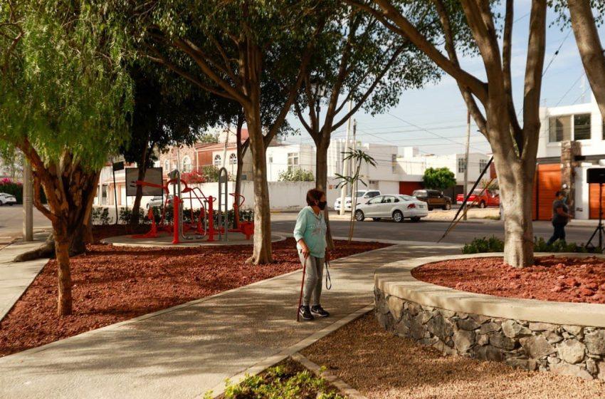 Municipio de Querétaro rehabilita parque en Jardines de la Hacienda