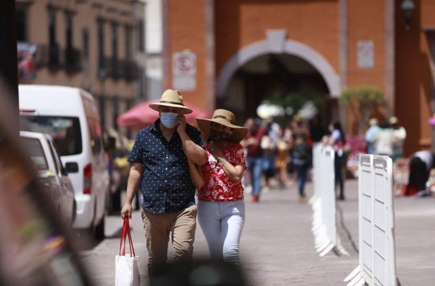 Realiza Municipio de Querétaro operativo de prevención de aglomeraciones en el Centro Histórico