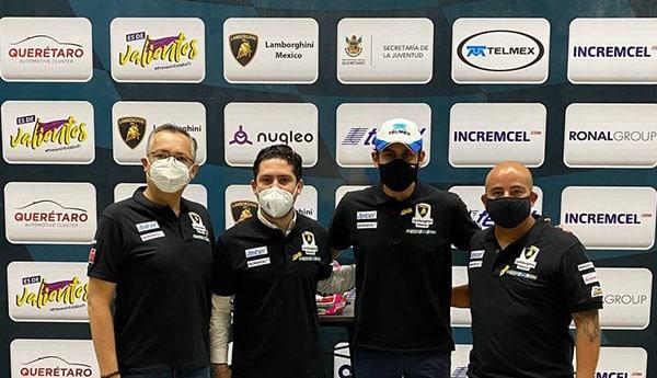 Un queretano representará a México en el Súper Trofeo Lamborghini 2021