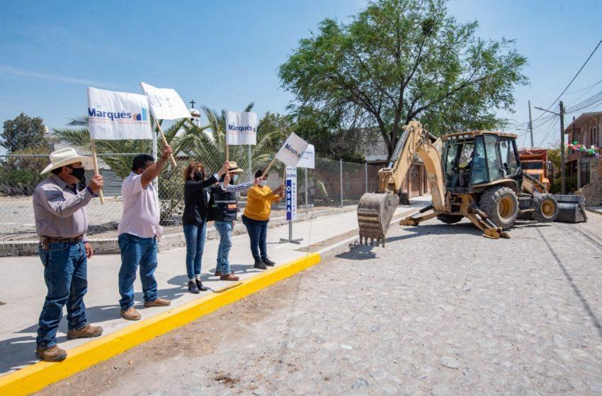 El Marqués invertirá 17.4 mdp en obras de urbanización de El Pozo y Palo Alto