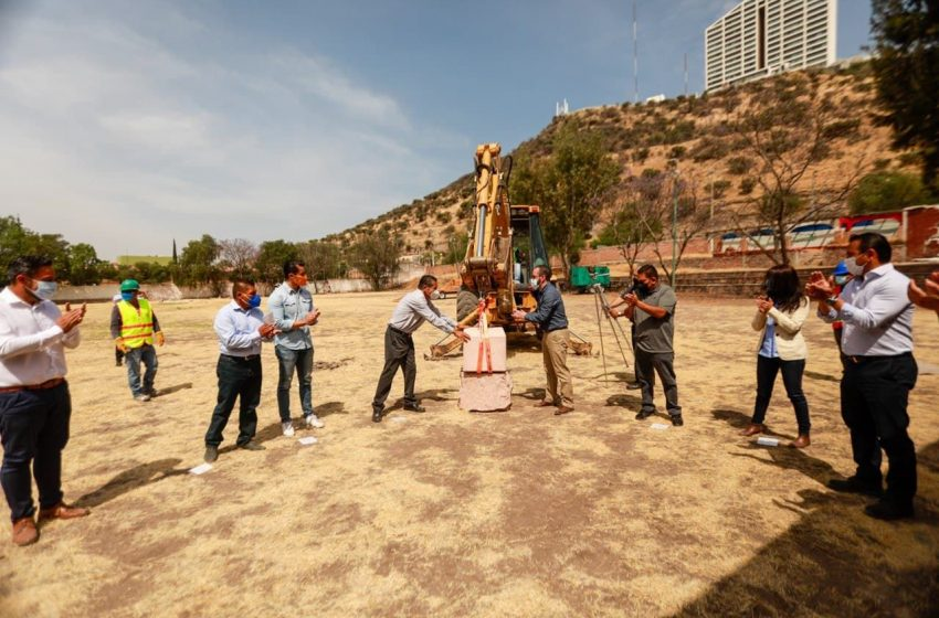 Inicia construcción de la Deportiva La Purísima, en Hércules