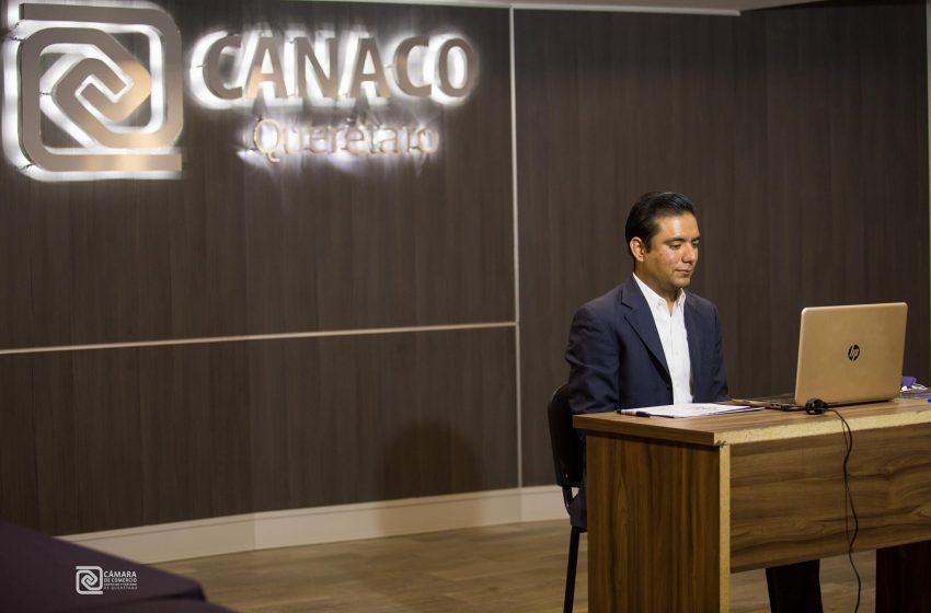 Canaco Querétaro presenta herramienta para asesorar a empresarios sobre licitaciones públicas