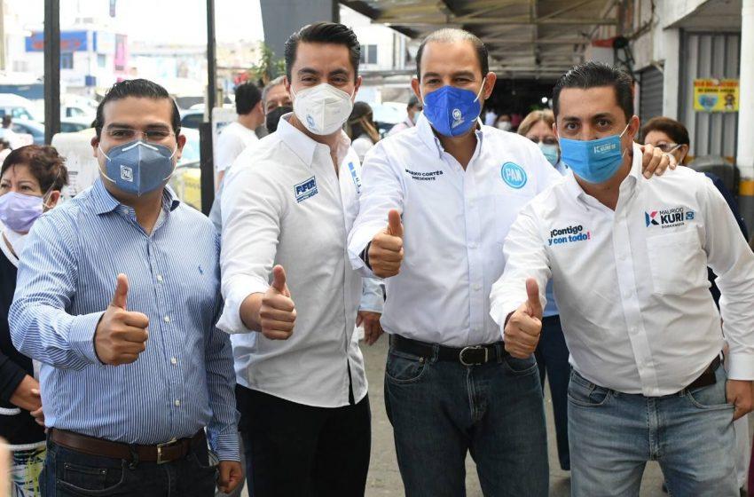 El PAN Querétaro va muy fuerte: Marko Cortés