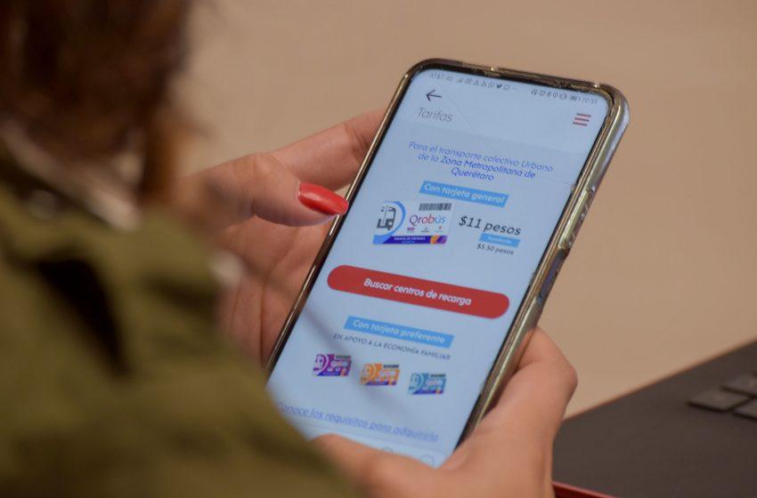 IQT realiza mejoras a app Qrobús y pago con celular con QR