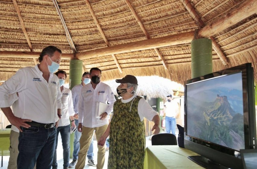 Kuri promete impulsar la protección de la Sierra Gorda de Querétaro