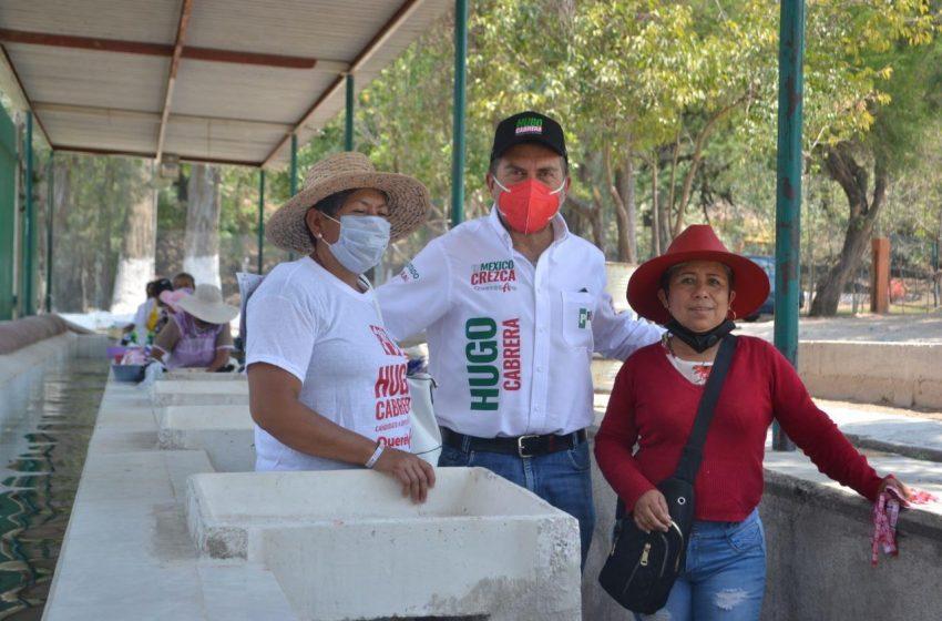 Hugo Cabrera propone garantizar abasto de medicamentos y suficiente personal médico