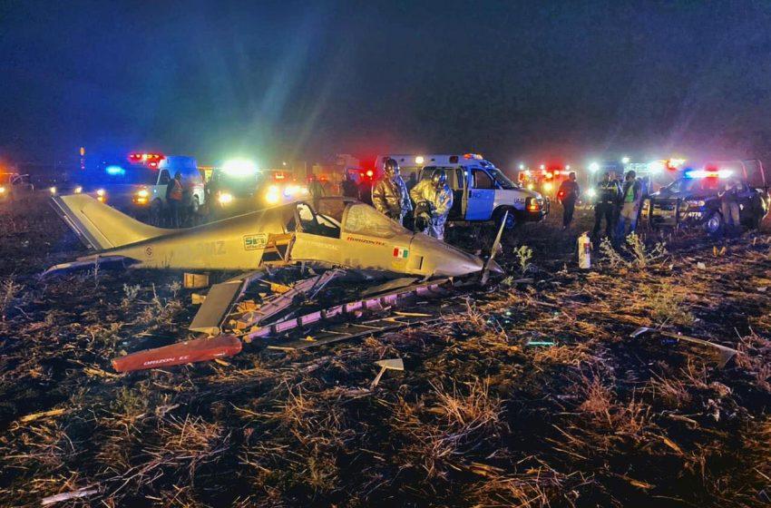 Accidente de avioneta en Galeras deja dos personas lesionadas