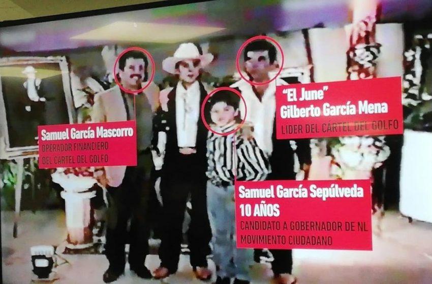 Adrián de la Garza revela video que vincula a Samuel García con exlíder del Cártel del Golfo
