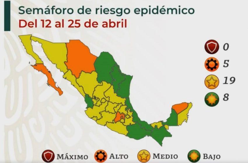 ¿Qué necesita Querétaro para pasar a verde en el Semáforo Epidemiológico?