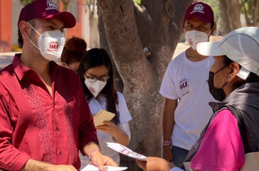 Seguridad, pavimentación y apoyo al empleo, las propuestas de la población a Arturo Maximiliano