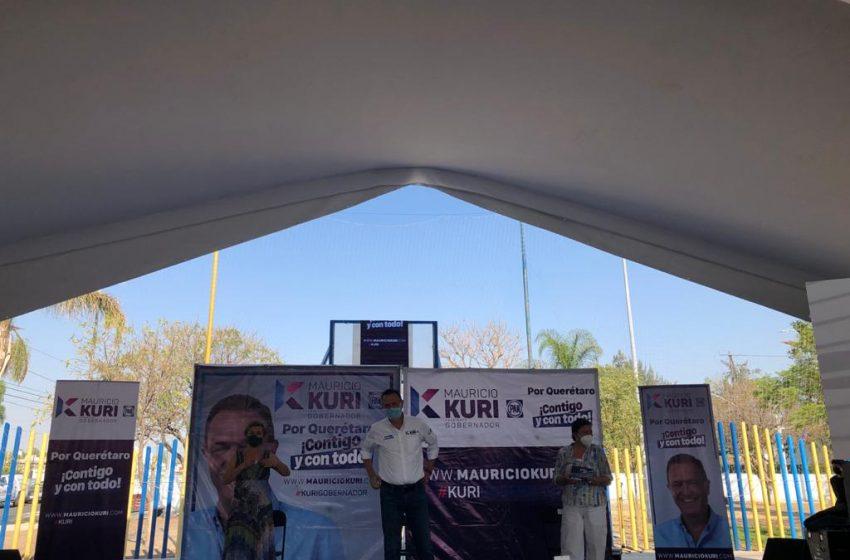 Apuesta Kuri por blindaje a seguridad en Querétaro