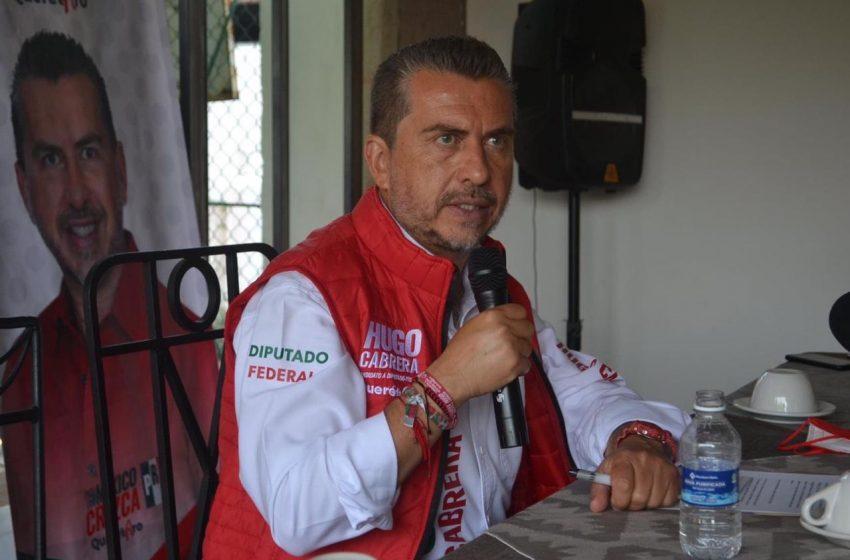 Llama Hugo Cabrera a Diputados Federales a votar a favor de la Ley Olimpia