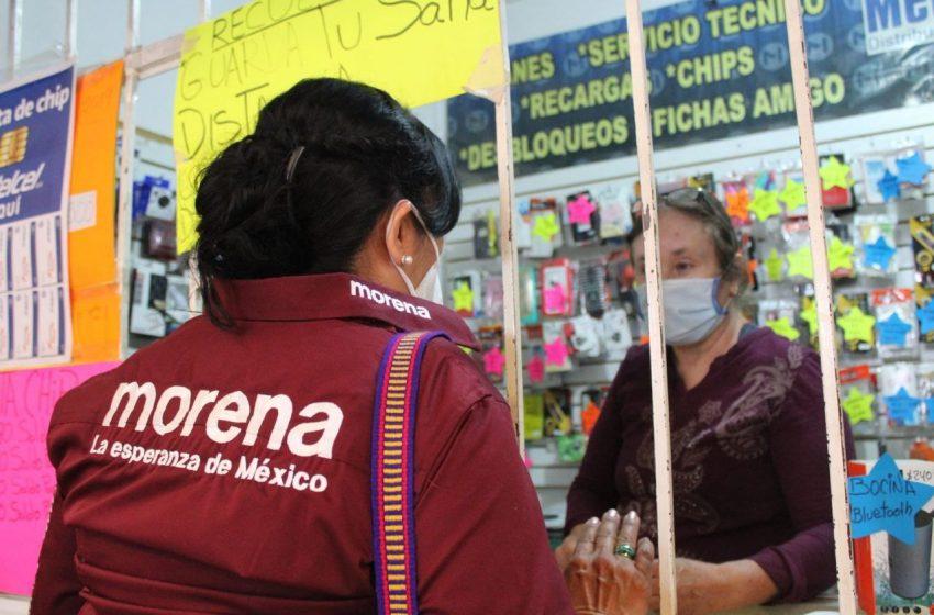 Drenaje eficiente, principales demandas de la población a la candidata Beatriz Robles