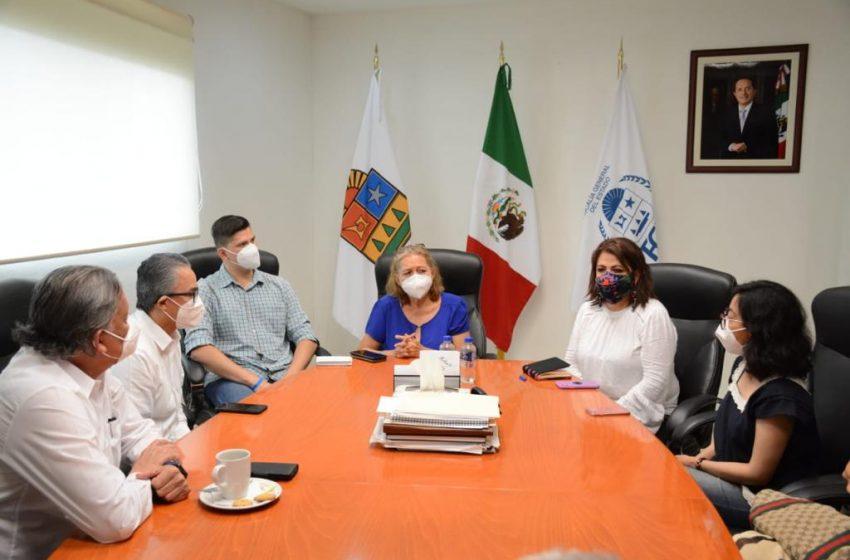 Olga Sánchez Cordero habla con madre de Victoria, ofrece justicia en el caso