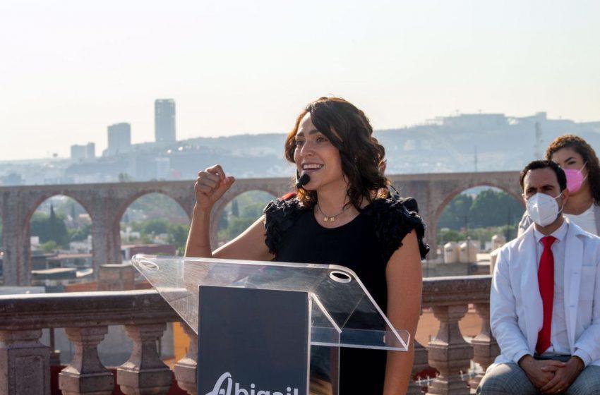 Se compromete Abigail Arredondo a no gastar más de 4 mdp en campaña