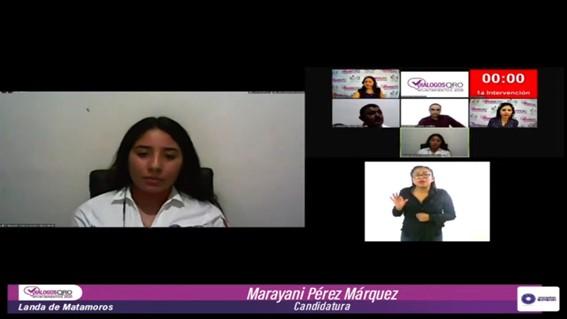 Realiza IEEQ debate entre aspirantes a la alcaldía de Landa de Matamoros