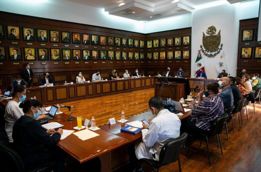 Comité Estatal de Vacunación dan seguimiento a Jornada de Vacunación