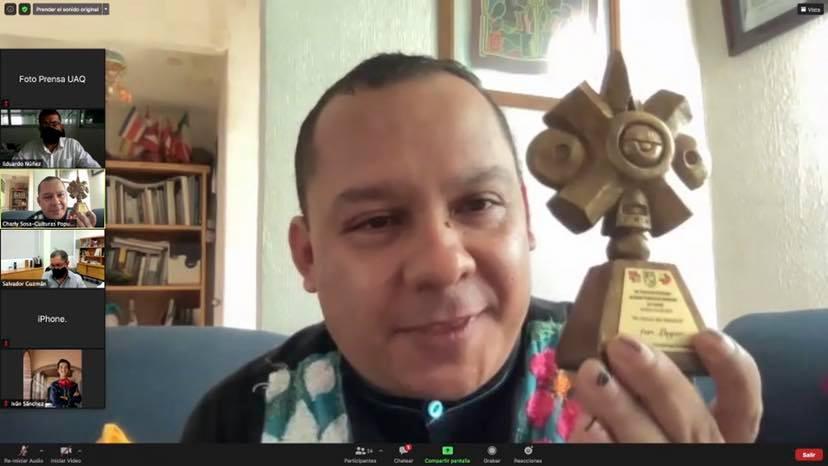 Premia UAQ a ganadores del 1° Concurso Nacional de Baile Tradicional Mexicano por Pareja