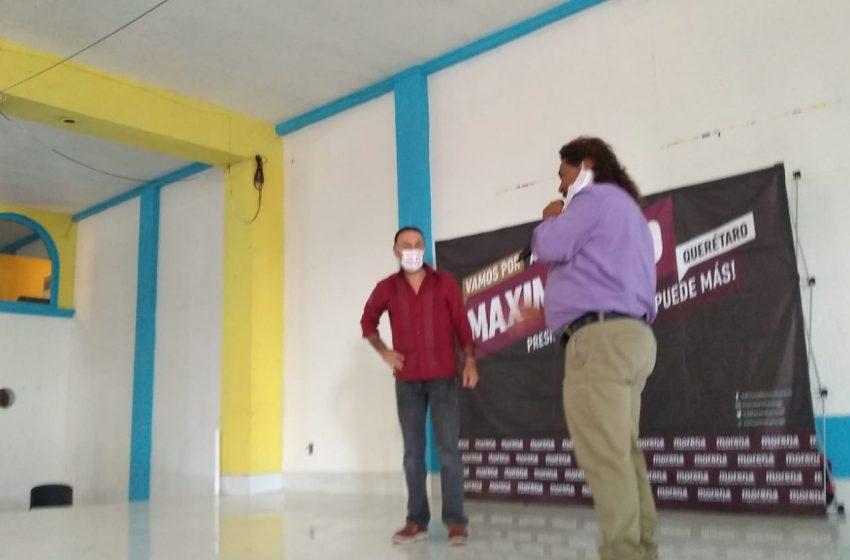 Arturo Maximiliano pide el voto y se compromete a trabajar por la capital