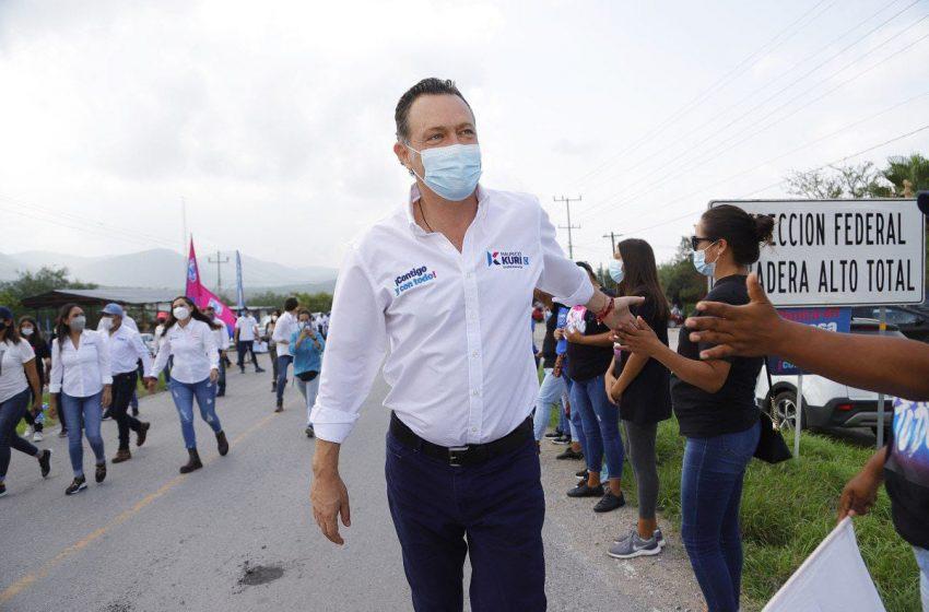 Encuesta de salida proyecta a Mauricio Kuri ganador de la gubernatura de Querétaro
