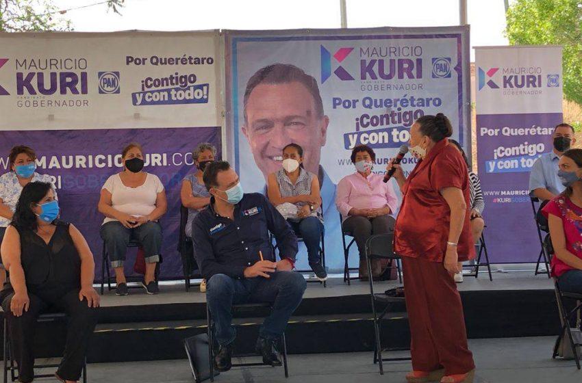 Promete Kuri proteger barrios tradicionales de Querétaro