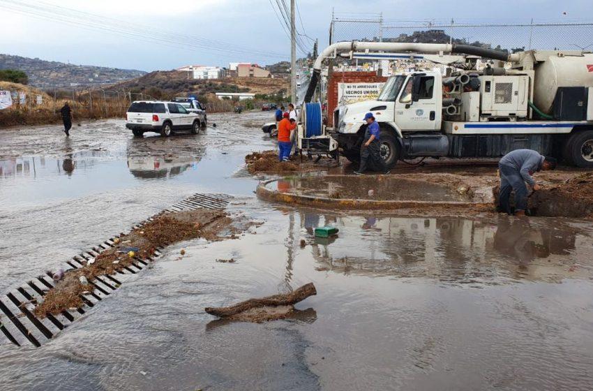 Pide Pancho Domínguez a PC estatal inventario de daños por lluvias en Querétaro