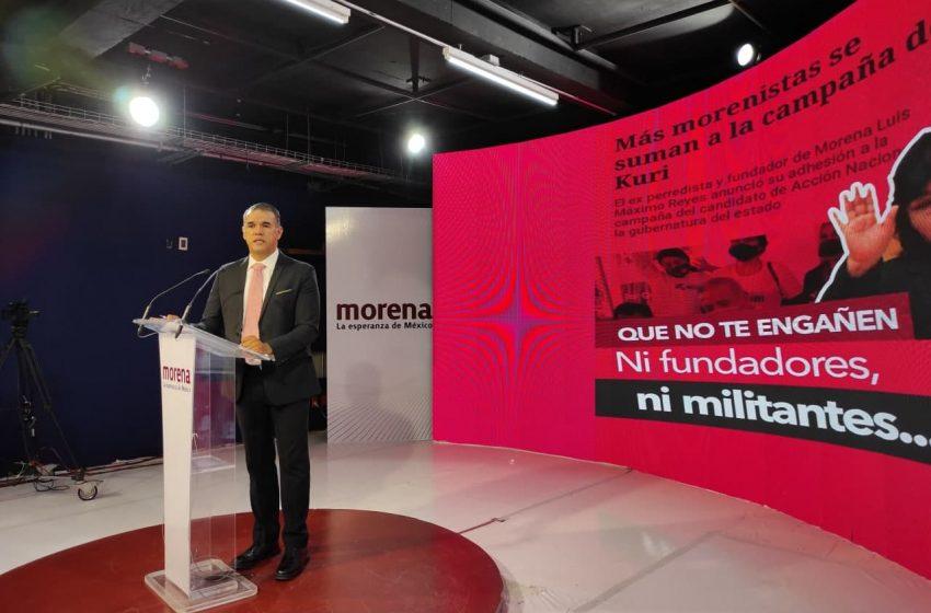 Descarta Mauricio Ruiz desbandada de Morena al PAN