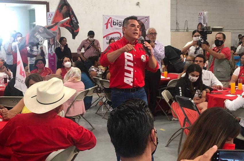 """Vamos a recuperar Querétaro, tanto en la presidencia municipal como en la gubernatura"": 'Alito' Moreno"