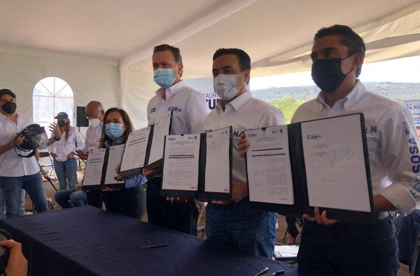 Candidatos del PAN suscriben compromiso ambiental metropolitano