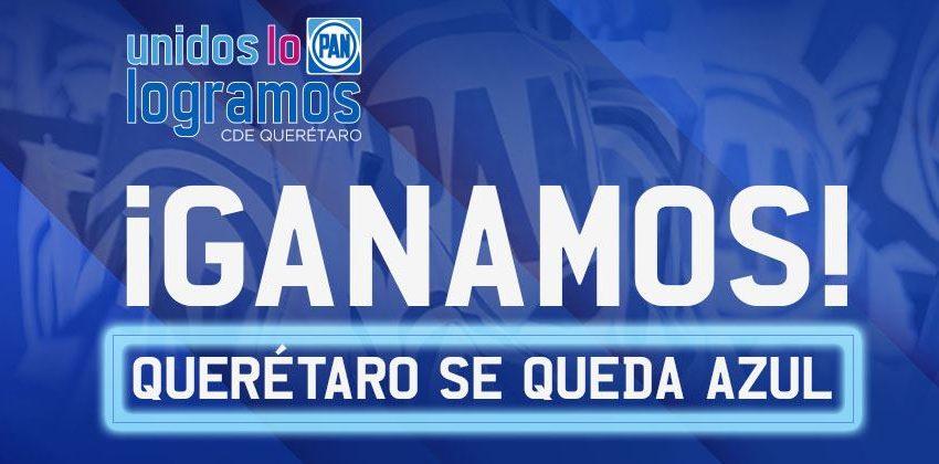 En Querétaro, el poder – indiscutible – de los azules