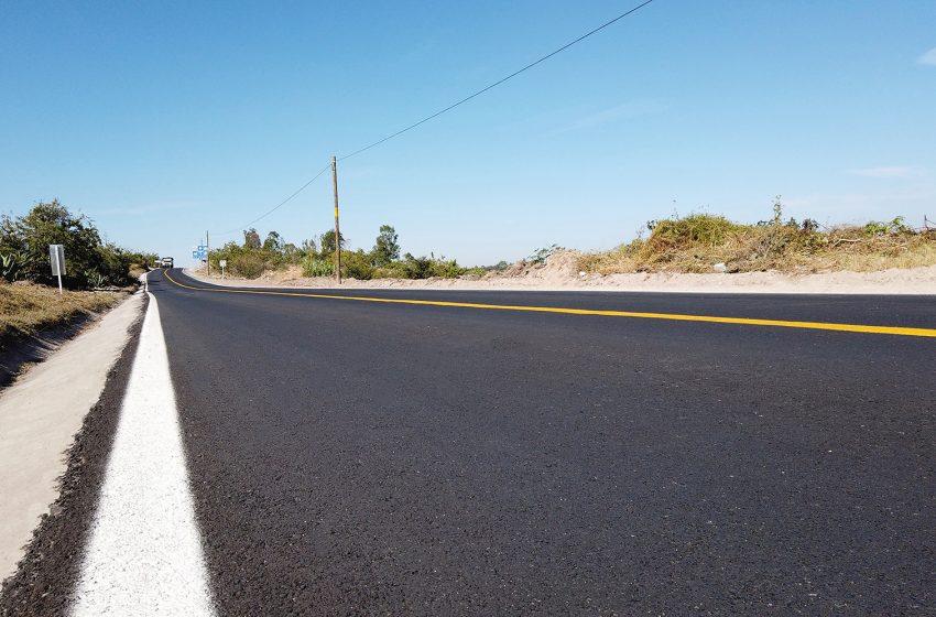 Concluyen rehabilitación de tramo Guanajuatito – Cadereyta de Montes