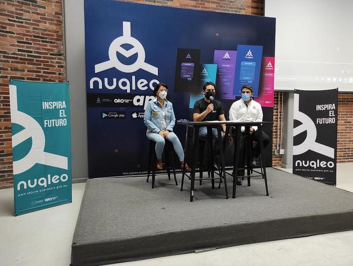 Invita Sejuve a la población a descargar la app de Nuqleo
