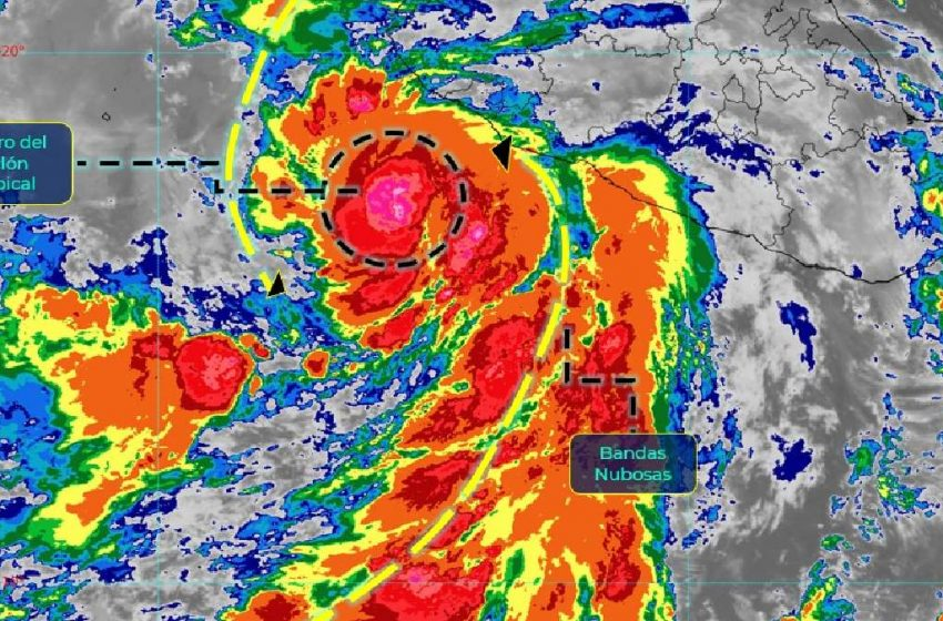 Tormenta Enrique ya es huracán categoría 1