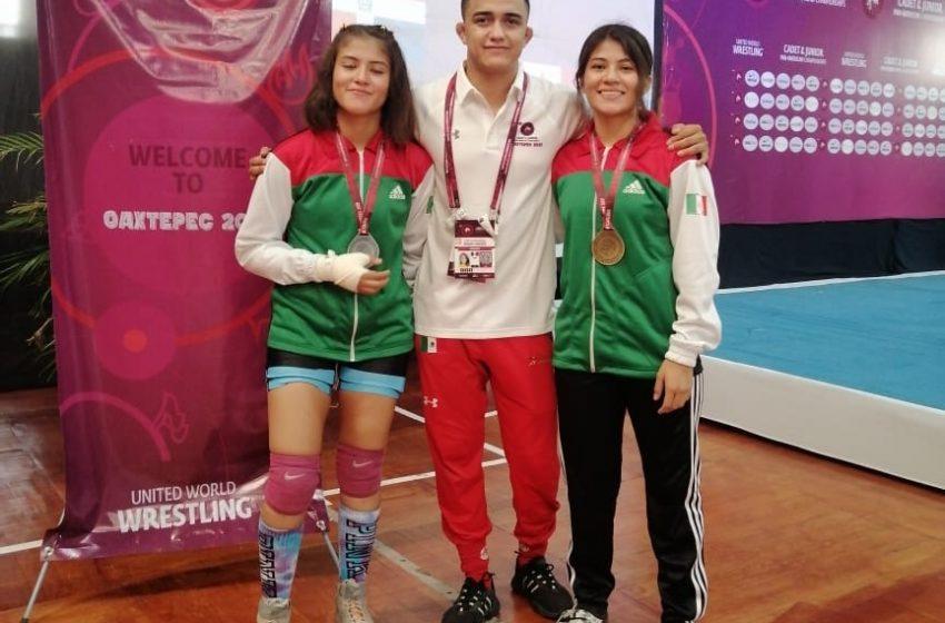 Luchadores queretanos ganan medallas y boletos para Colombia