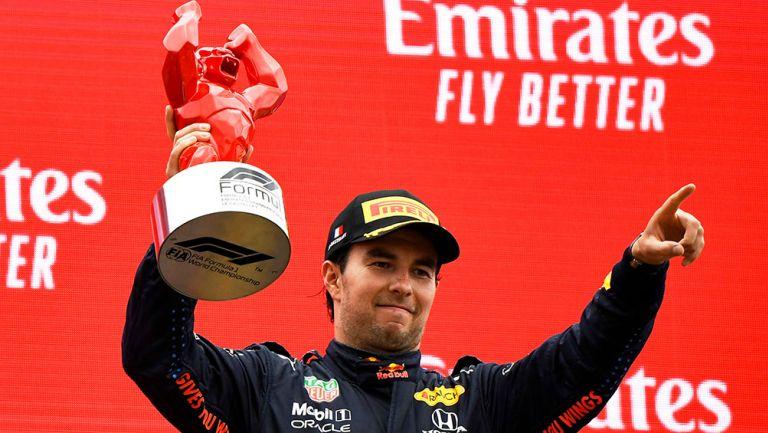 Checo Pérez se vuelve a subir al podio en GP de Francia